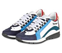 Sneaker 551 - weiss/ navy/ petrol