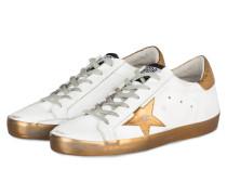 Sneaker SUPERSTAR - weiss/ gold metallic