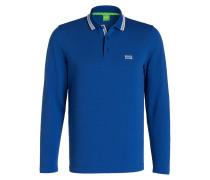 Piqué-Poloshirt PLISY - blau