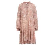 Kleid CRAYON mit Rüschenbesatz