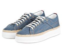 Plateau-Sneaker CONNIE-D - blau