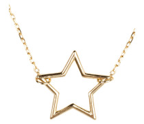 Kette OPEN STAR - gold