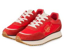 Plateau-Sneaker BEVINDA - ROT