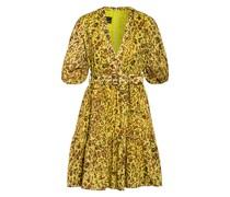 Kleid NOUVOLOSO mit Volantbesatz