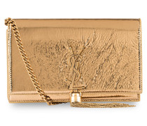 Clutch KATE - gold metallic
