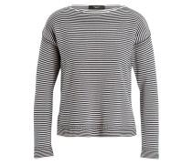 Pullover - dunkelblau/ weiss gestreift