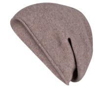 Cashmere-Mütze - taupe