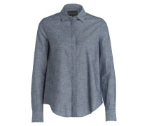 Bluse ANDRIN - blau meliert