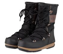 Moon Boots VIENNA FELT - schwarz/ braun