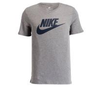 T-Shirt FUTURA ICON - grau meliert