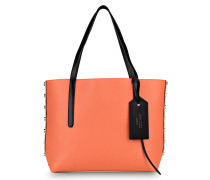 Shopper TWIST EAST WEST - beige/ orange