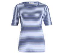 T-Shirt - blau/ weiss gestreift