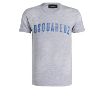 T-Shirt DAN - grau meliert
