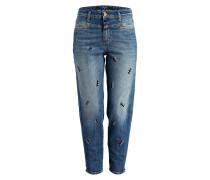 Mom-Jeans JUPE - blau