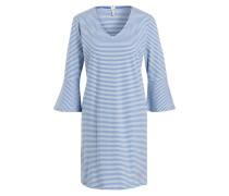Nachthemd - blau/ weiss gestreift