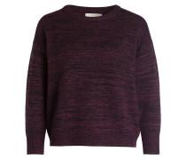 Pullover BRISBANE - bordeaux meliert