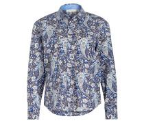 Bluse Comfort Fit - blau/ hellblau/ navy