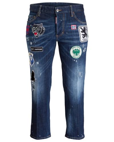 Boyfriend-Jeans - denim