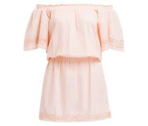 Off-Shoulder-Kleid MICHELLE - puder