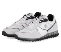 Sneaker ESTORIL - WEISS/ HELLGRAU/ SCHWARZ