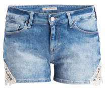 Jeans-Shorts EMILY - blau