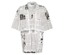 Oversized-Resorthemd Comfort Fit