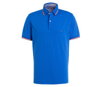 Piqué-Poloshirt Regular-Fit - royal