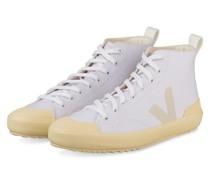 Hightop-Sneaker NOVA - WEISS/ HELLGELB