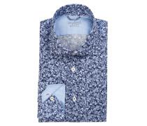 Leinenhemd RIVARA Tailor-Fit - blau