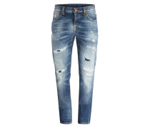 Destroyed-Jeans GRIM TIM Slim Regular-Fit