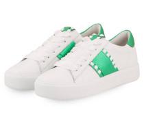 Sneaker UP - weiss/ grün
