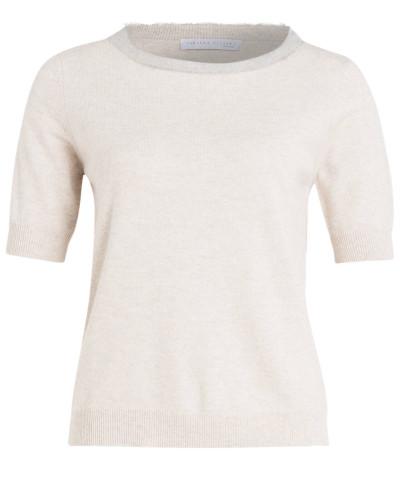 Pullover - sand/ grau