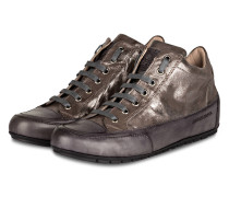 Hightop-Sneaker JOANA - anthrazit metallic