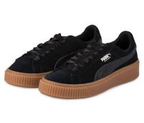 Sneaker SUEDE PLATFORM BUBBLE - schwarz