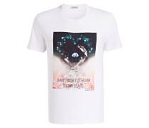 T-Shirt - weiss/ marine/ creme