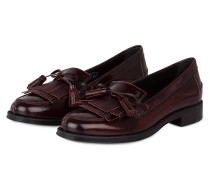 Tassel-Loafer - bordeaux