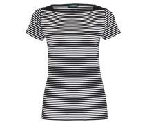 T-Shirt KARLA - schwarz/ weiss gestreift