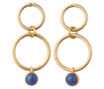 Ohrstecker DREAM CATCHER - gold/ blau