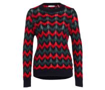 Pullover - rot/ grün/ blau