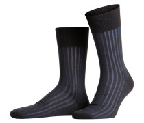 Socken SHADOW - 3191 anthra/blau