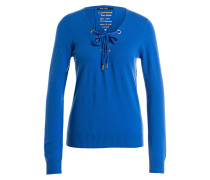 Pullover mit Cashmere-Anteil - royal
