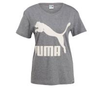 T-Shirt ARCHIVE - grau meliert