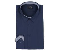 Hemd Extra Slim-Fit - dunkelblau