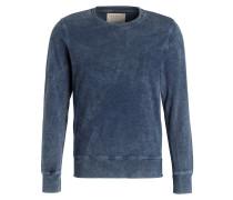 Sweatshirt SVEN - blau meliert