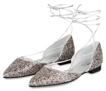 Ballerinas - silber