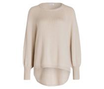 Pullover mit Cashmere-Anteil - sand