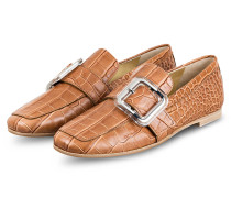 Loafer NINA - CAMEL