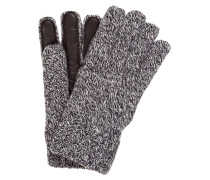 Handschuhe im Leder-Schurwoll-Mix