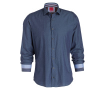 Hemd Level Five Casual body fit - marine