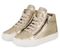 Hightop-Sneaker KRISS - GOLD